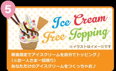 オリジナルアイスクリーム